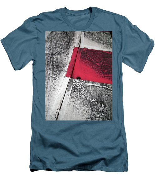 Men's T-Shirt (Slim Fit) featuring the photograph Curbs At The Canadian Formula 1 Grand Prix by Juergen Weiss