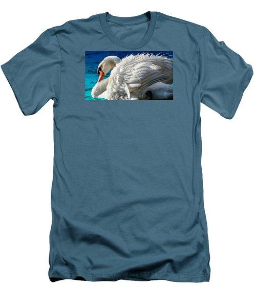 Cygnus Shine 3 Men's T-Shirt (Slim Fit) by Brian Stevens