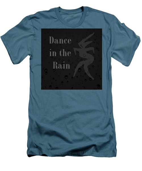 Dance In The Rain Men's T-Shirt (Athletic Fit)