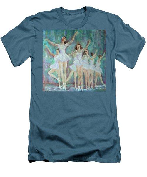 Dance Rehearsal Men's T-Shirt (Slim Fit) by Lyric Lucas