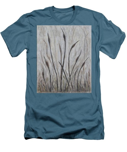 Dancing Cattails 3 Men's T-Shirt (Slim Fit) by Trish Toro