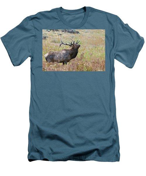 Men's T-Shirt (Athletic Fit) featuring the photograph Dapper Dan by Gary Lengyel