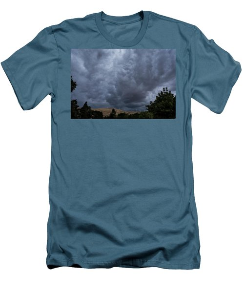 Dark Electric Men's T-Shirt (Athletic Fit)