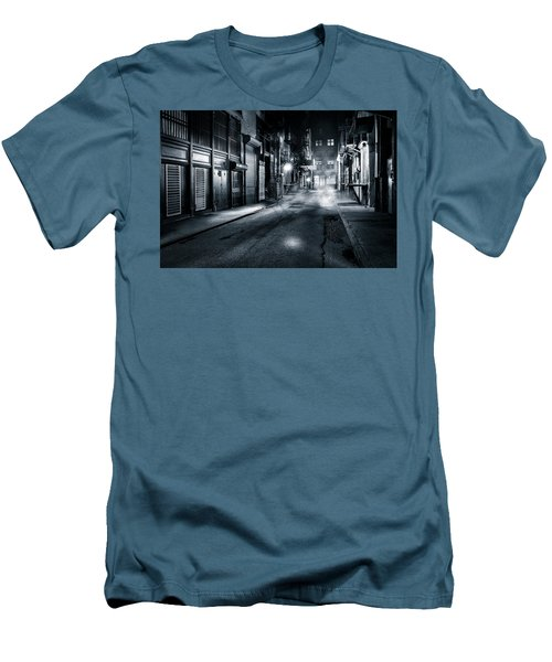 Dark Nyc Men's T-Shirt (Slim Fit) by Mihai Andritoiu
