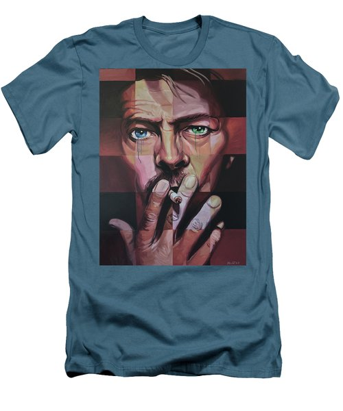 David Bowie Men's T-Shirt (Athletic Fit)
