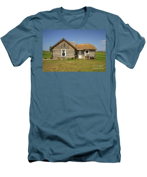 Davis Cabin Men's T-Shirt (Athletic Fit)