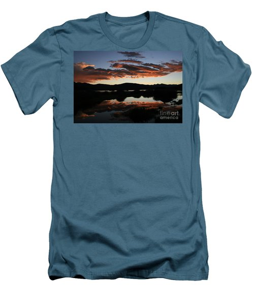 Dawn At Lake Dillon Men's T-Shirt (Athletic Fit)