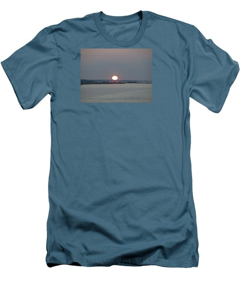 Men's T-Shirt (Slim Fit) featuring the photograph Dawn by  Newwwman