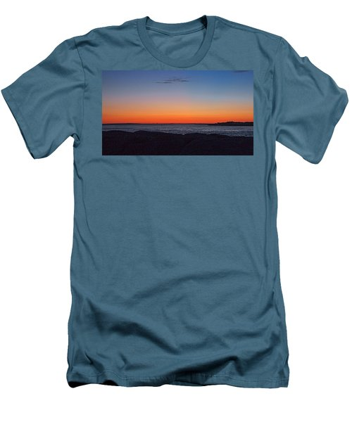Men's T-Shirt (Slim Fit) featuring the photograph Days Pre Dawn by  Newwwman
