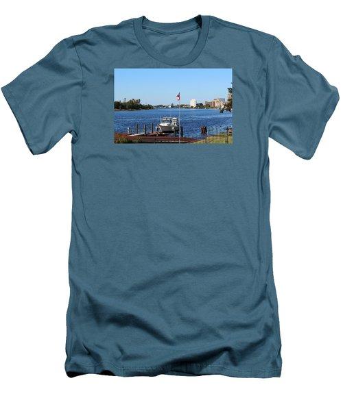Daytime Beauty  Men's T-Shirt (Slim Fit) by Cynthia Guinn