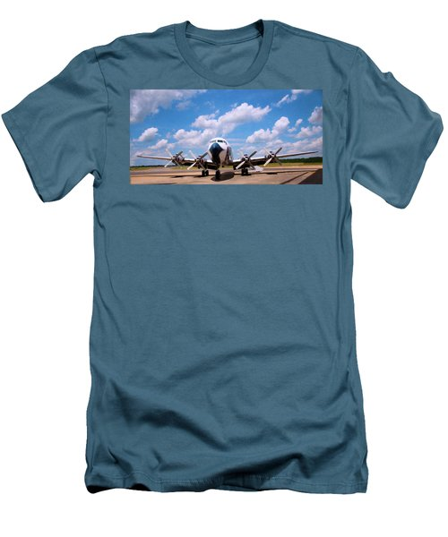 Men's T-Shirt (Slim Fit) featuring the digital art Dc 7 by Chris Flees