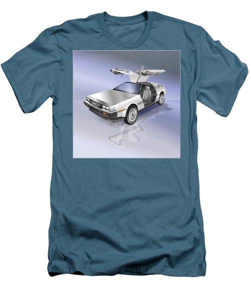 De Lorean Men's T-Shirt (Athletic Fit)
