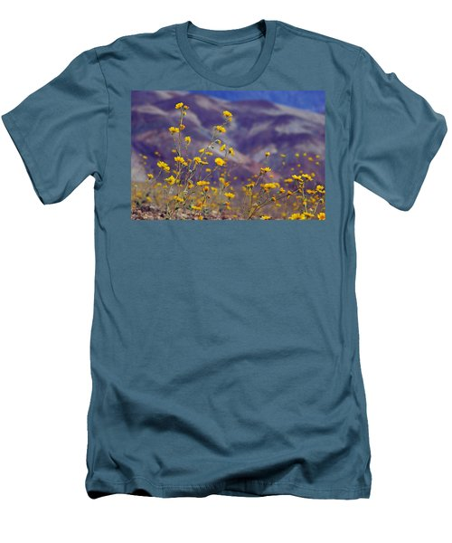 Death Valley Superbloom 103 Men's T-Shirt (Slim Fit) by Daniel Woodrum
