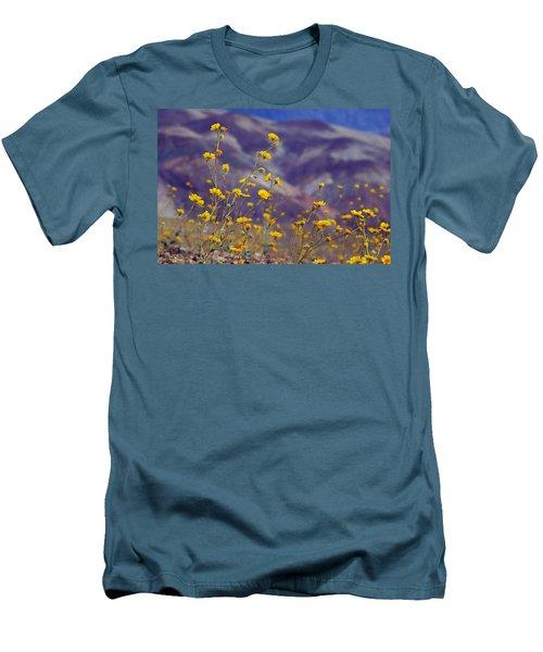 Death Valley Superbloom 103 Men's T-Shirt (Athletic Fit)