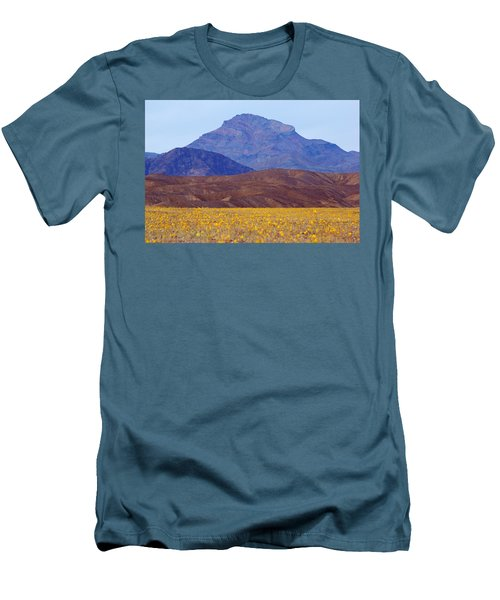 Death Valley Superbloom 201 Men's T-Shirt (Slim Fit) by Daniel Woodrum