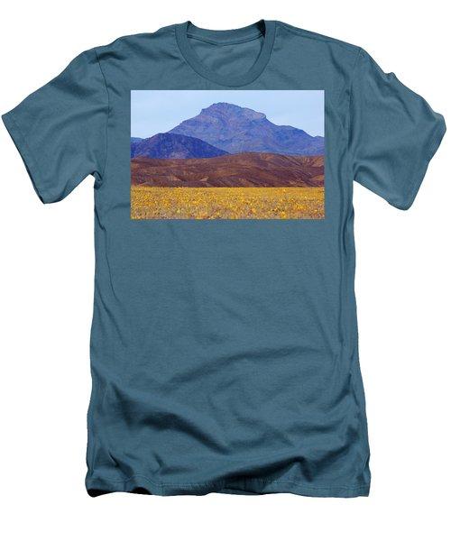 Death Valley Superbloom 201 Men's T-Shirt (Athletic Fit)