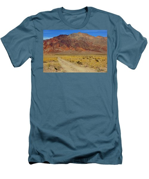 Death Valley Superbloom 205 Men's T-Shirt (Slim Fit) by Daniel Woodrum