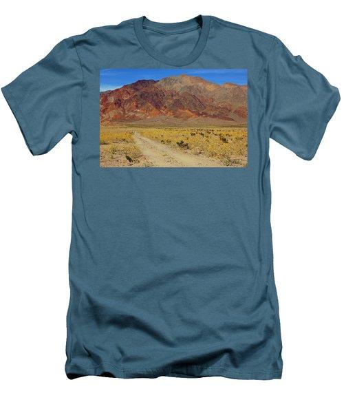 Death Valley Superbloom 205 Men's T-Shirt (Athletic Fit)