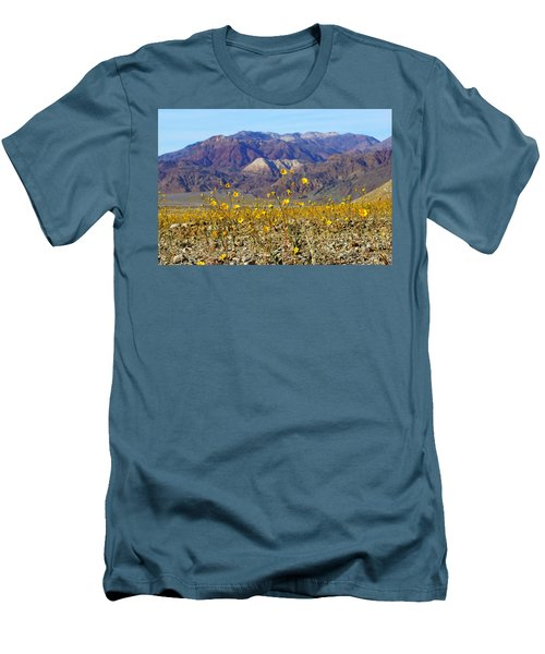 Death Valley Superbloom 405 Men's T-Shirt (Slim Fit) by Daniel Woodrum