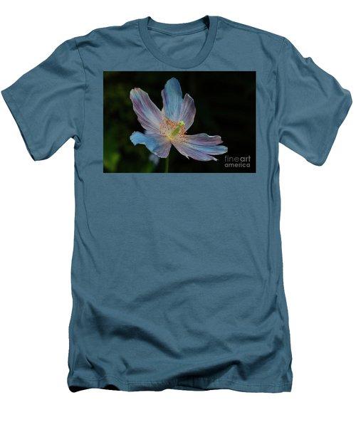 Delicate Blue Men's T-Shirt (Athletic Fit)