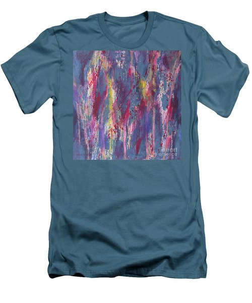 Men's T-Shirt (Slim Fit) featuring the painting Delve Deep 2 by Mini Arora