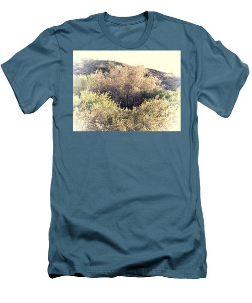 Desert Ironwood Afternoon Men's T-Shirt (Athletic Fit)