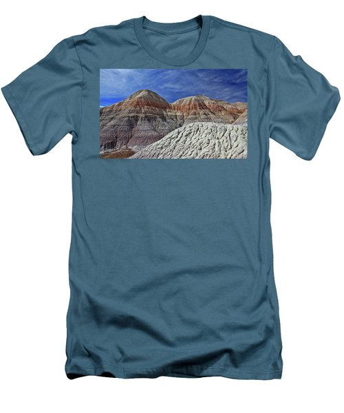 Men's T-Shirt (Slim Fit) featuring the photograph Desert Pastels by Gary Kaylor