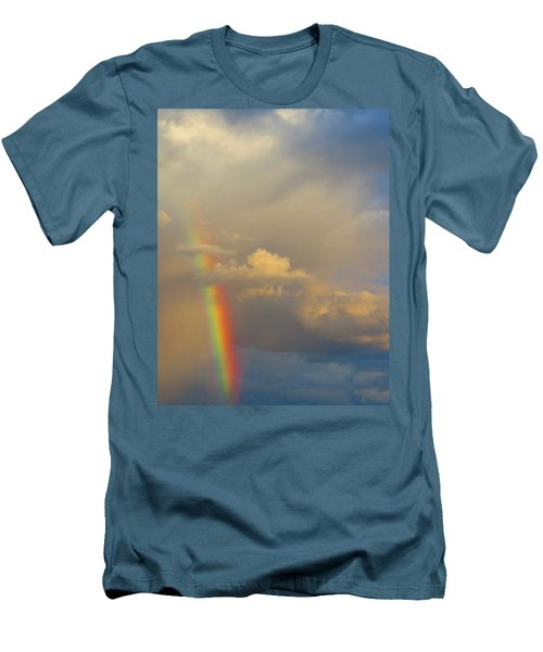 Desert Rainbow Men's T-Shirt (Athletic Fit)
