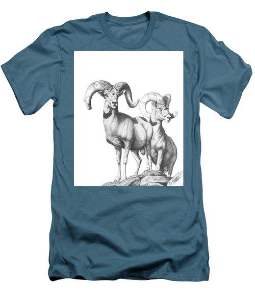Desert Sentinels Men's T-Shirt (Athletic Fit)