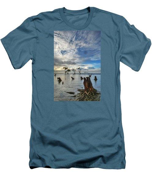 Desolation Men's T-Shirt (Slim Fit) by Robert Charity