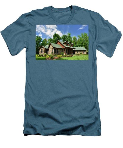 Devers Residence - King George, Va Men's T-Shirt (Slim Fit) by Dana Sohr