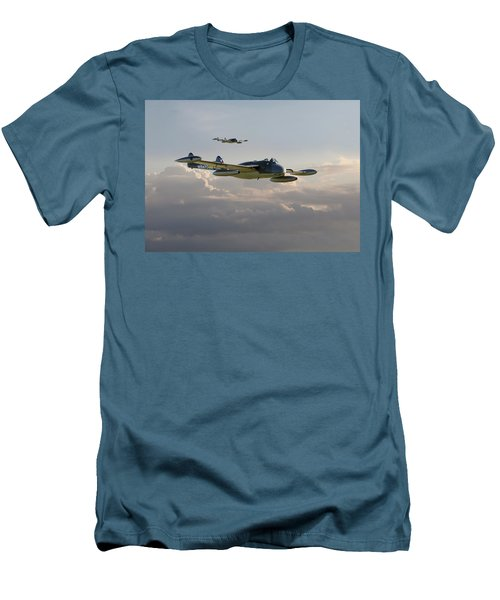 Men's T-Shirt (Slim Fit) featuring the photograph  Dh112 - Venom by Pat Speirs