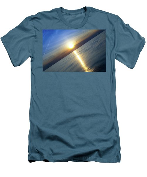Diagonal Sunset Men's T-Shirt (Athletic Fit)