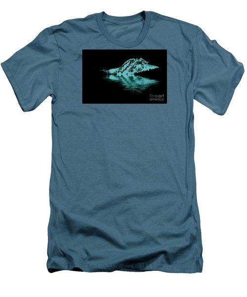 Diamond Head Men's T-Shirt (Slim Fit) by Elaine Hunter