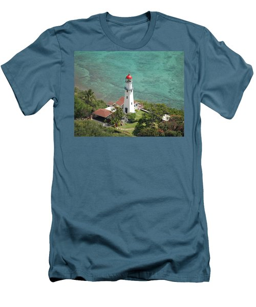 Diamond Head Lighthouse 2 Men's T-Shirt (Athletic Fit)