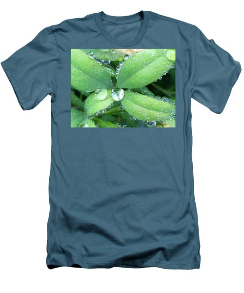 Diamonds Men's T-Shirt (Slim Fit) by Russell Keating