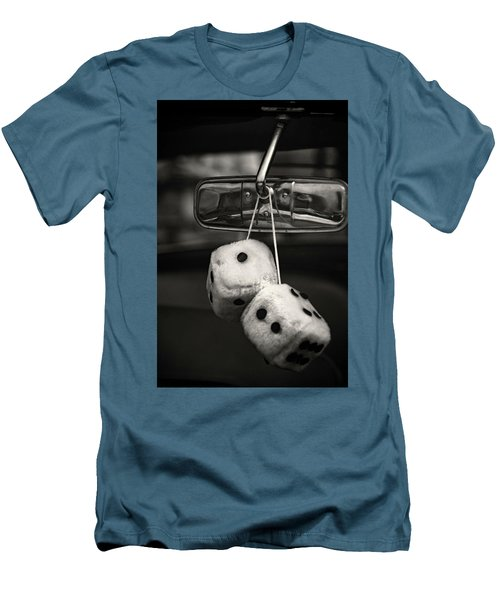Dice In The Window Men's T-Shirt (Athletic Fit)