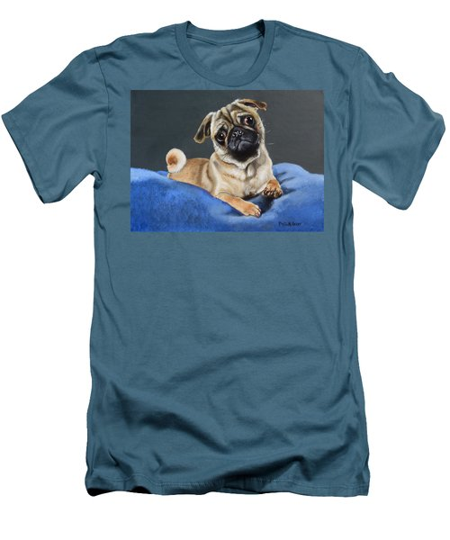 Did You Say Treats Men's T-Shirt (Slim Fit) by Phyllis Beiser