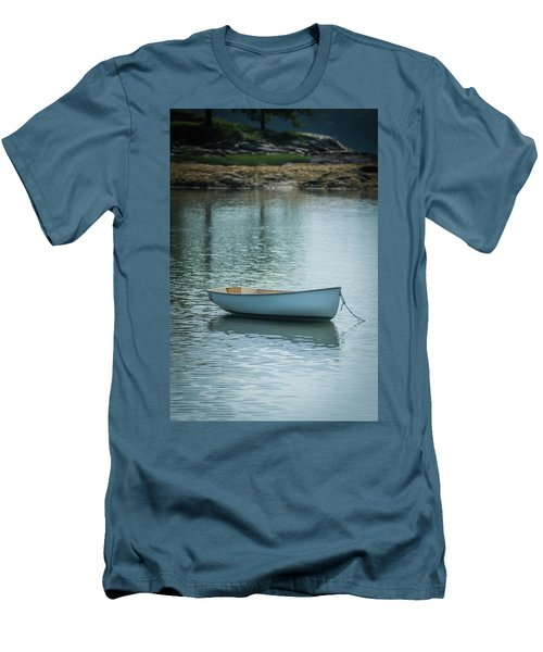 Men's T-Shirt (Athletic Fit) featuring the photograph Dinghy by Guy Whiteley