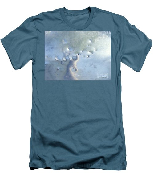 Dings In The Slide Men's T-Shirt (Slim Fit) by Sarah Loft