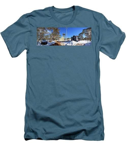 Men's T-Shirt (Slim Fit) featuring the photograph Dinner Plain Cfa by Bill Robinson
