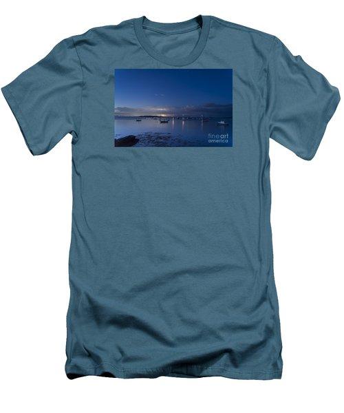 Distant Storm Men's T-Shirt (Slim Fit) by Patrick Fennell