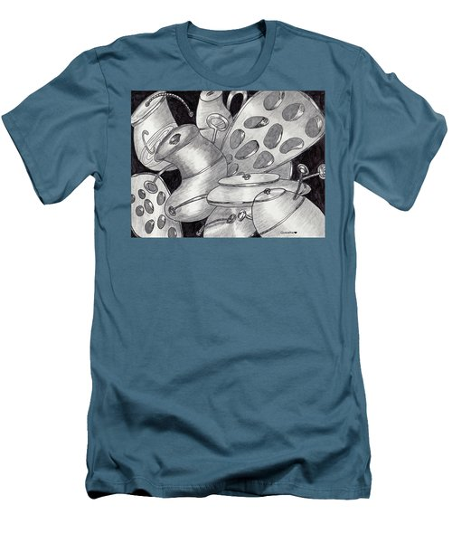 Distorted Images Men's T-Shirt (Slim Fit) by Quwatha Valentine