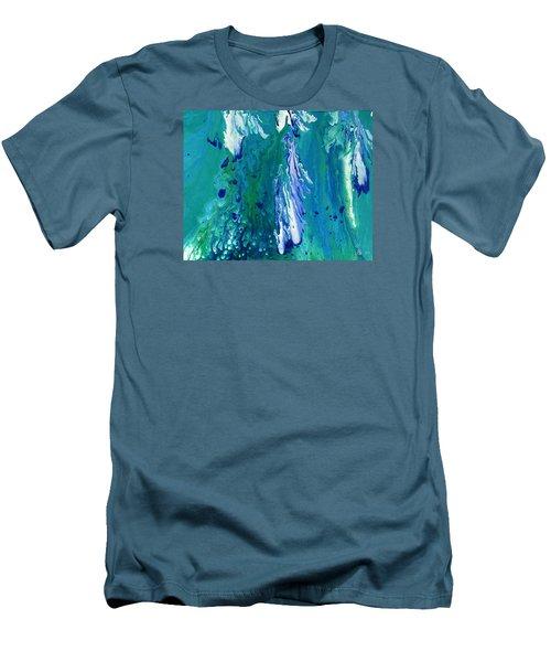 Diving To The Depths Men's T-Shirt (Slim Fit) by Lori Kingston