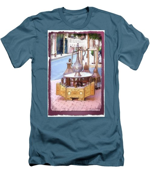 Men's T-Shirt (Athletic Fit) featuring the photograph Do-00456 Artisanat Collection by Digital Oil