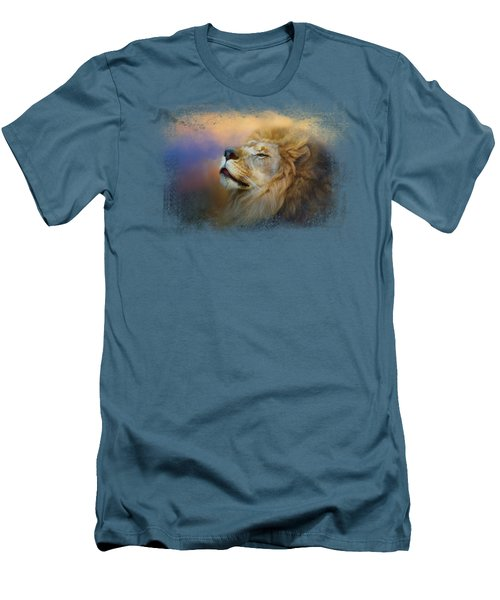 Do Lions Go To Heaven? Men's T-Shirt (Slim Fit) by Jai Johnson