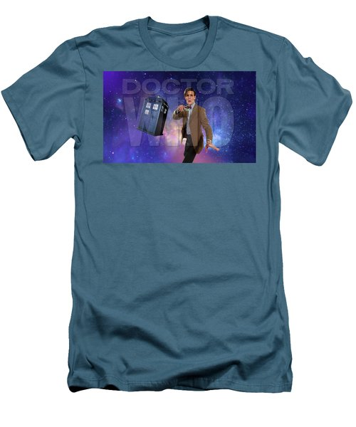 Doctor Who Men's T-Shirt (Slim Fit) by Pat Cook