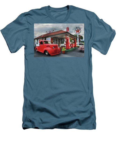 Men's T-Shirt (Slim Fit) featuring the photograph Dodge At Cruisers by Lori Deiter