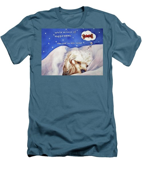 Doggie Dreams Men's T-Shirt (Athletic Fit)