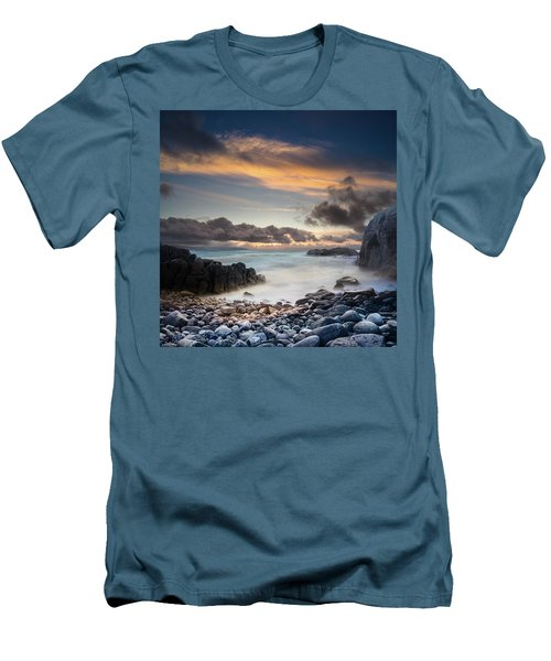 Donegal Sunset 5 Men's T-Shirt (Athletic Fit)